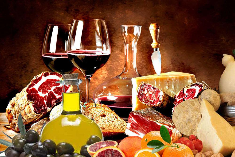 Cesti natalizi idee regalo2016 cassette vini roma catering for Prodotti tipici roma